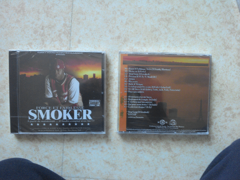 SMOKER - cd rap français
